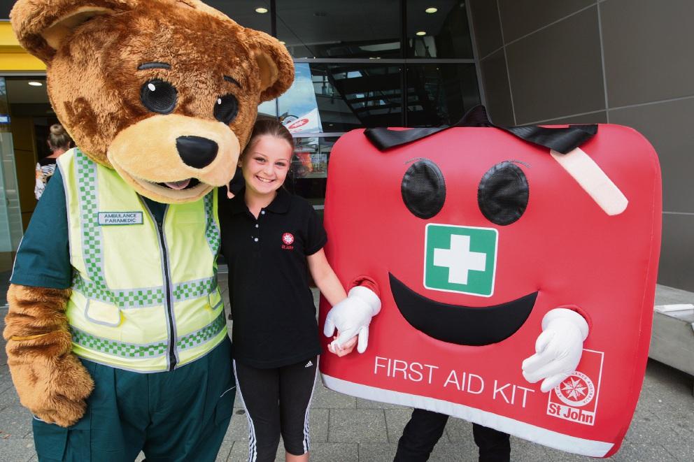 St John Ambulance launch emergency management program for kids
