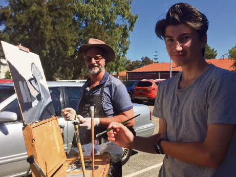 Mandurah Art Gallery: open-air painters to exhibit later this month