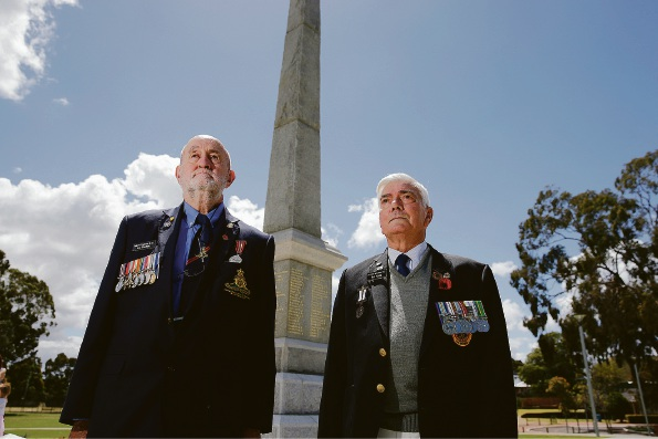 Remembrance Day: hundreds gather at Bassendean War Memorial to pay respects