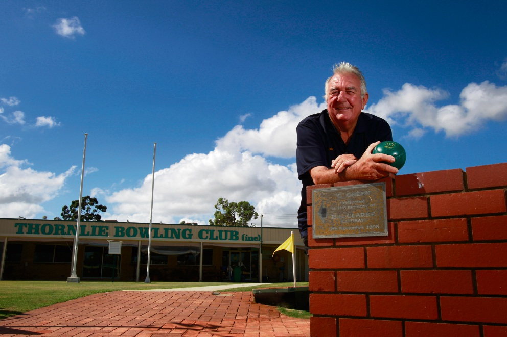 Thornlie Bowling Club director Rick Scupham.