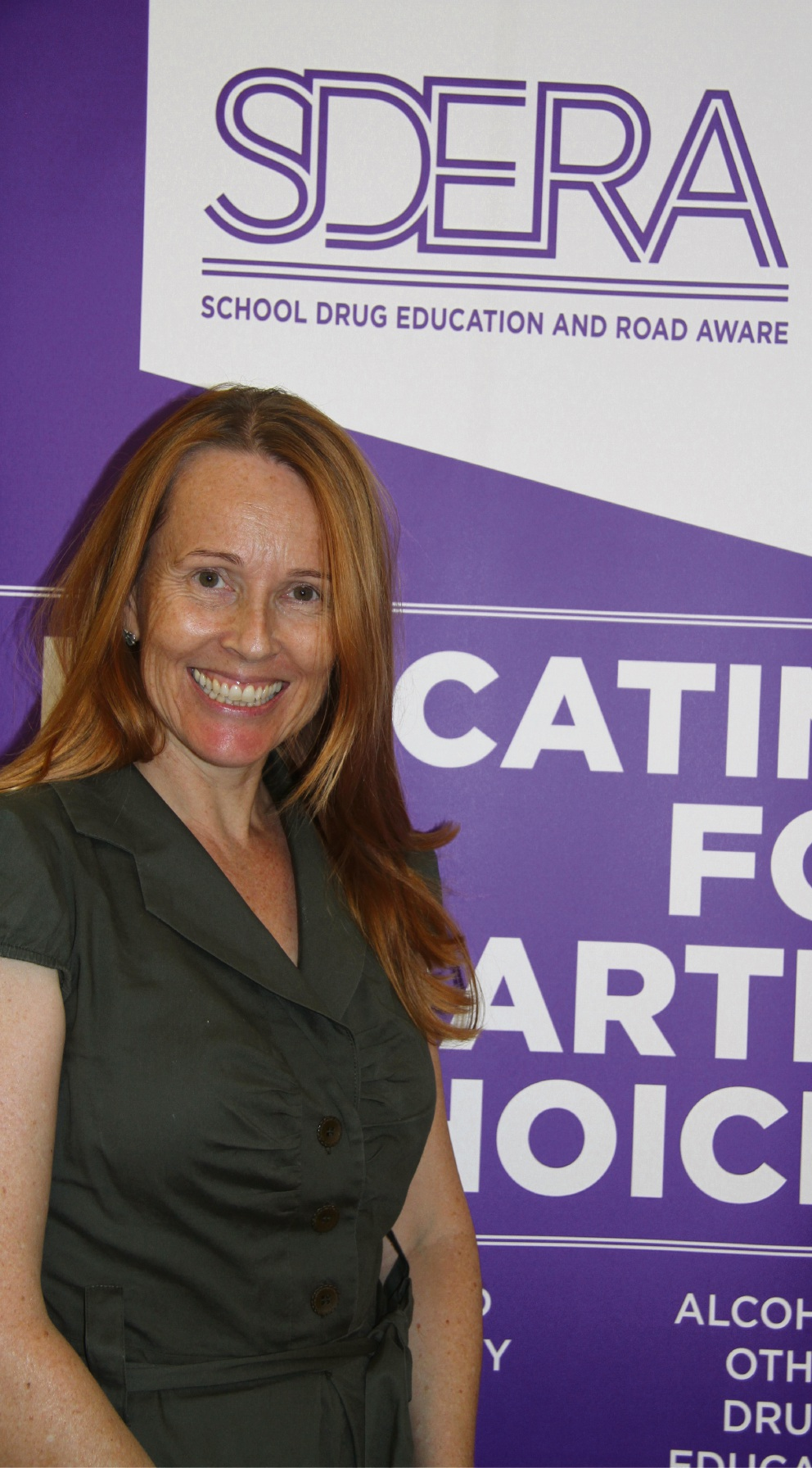 Co-ordinator Catriona Coe.