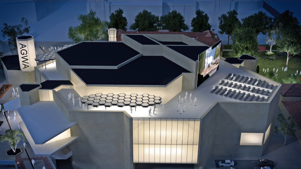 Art Gallery of WA to develop rooftop for cultural and commercial purposes