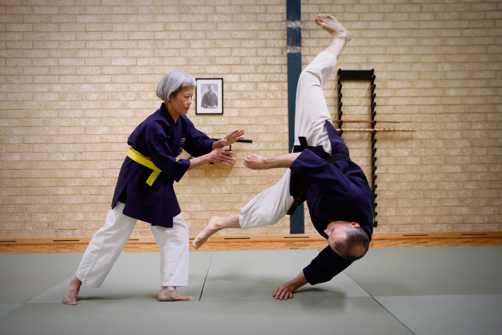 Diminutive Doubleview martial artist an example to follow