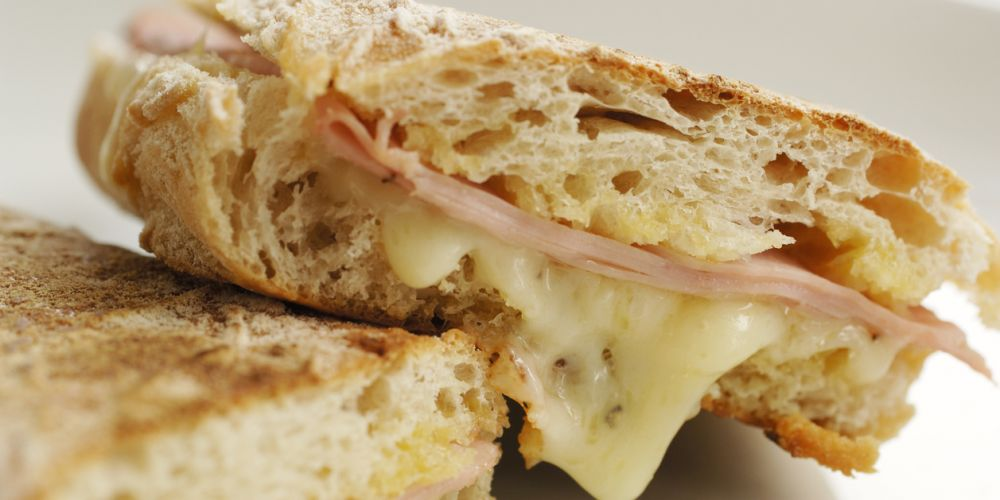The toasted sandwich. Perfection. Photo: iStock