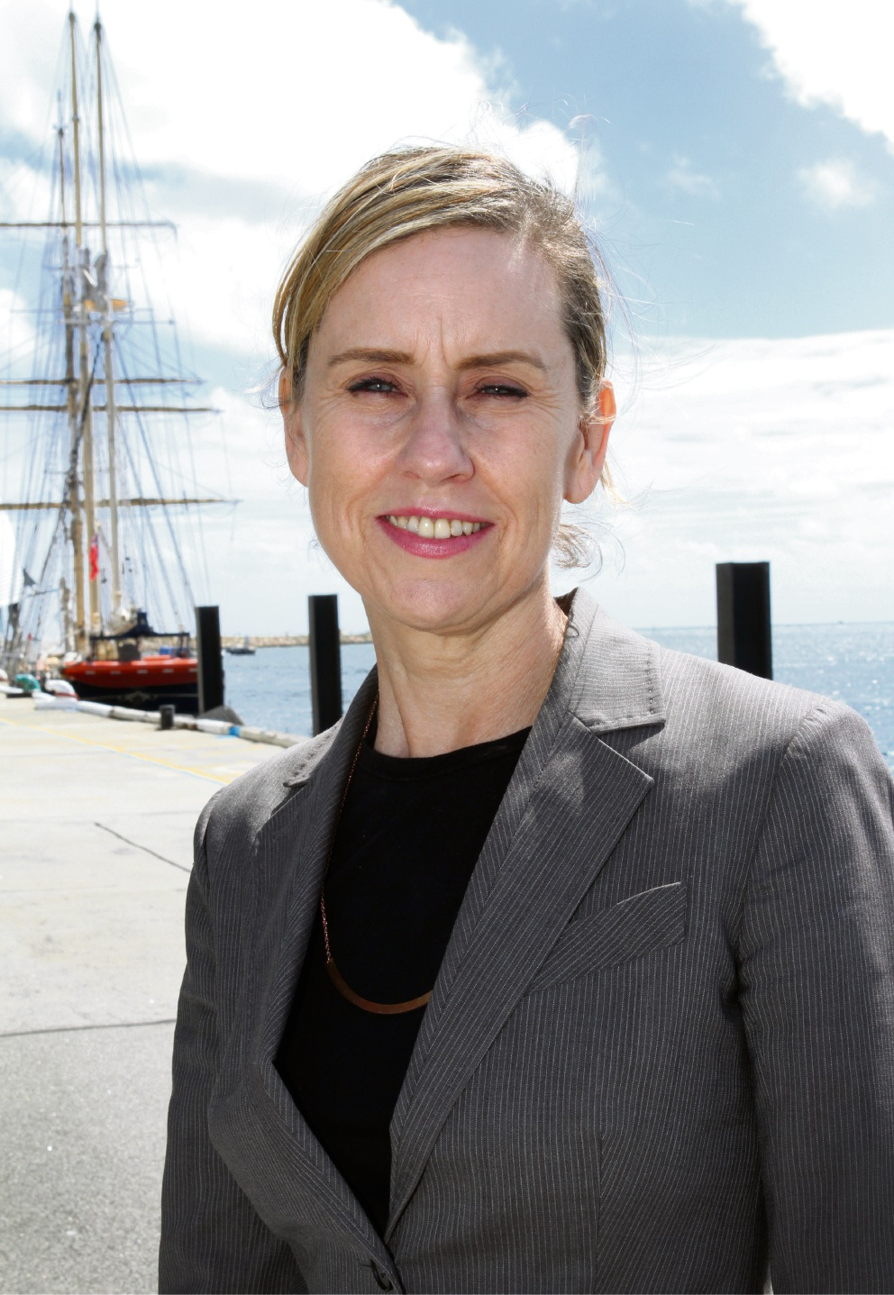 Child Protection and Prevention of Family and Domestic Violence Minister Simone McGurk. Picture: Robin Kornet