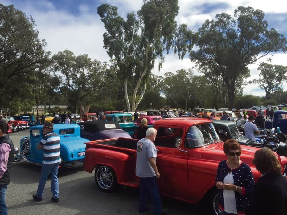Get ready to rumble with hot rods at the Ravo