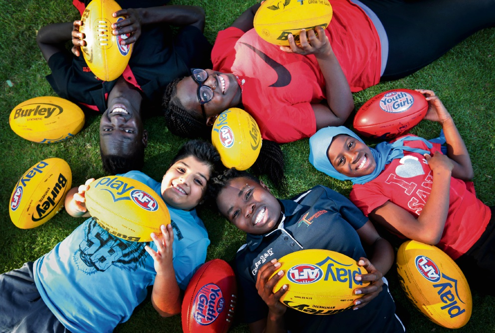 Edmund Rice Centre WA's AFL programs in danger of folding because of lack of funds