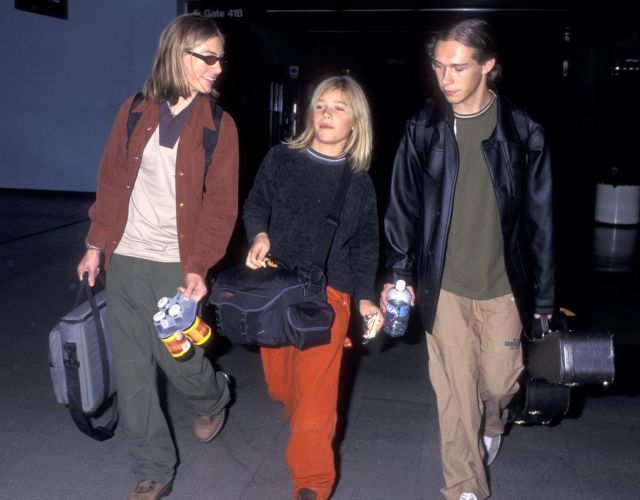 The boys of Hanson back in 1997. Photo: Getty