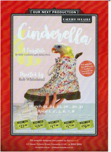 The Garrick Theatre brings you Cinderella: A Fairytale