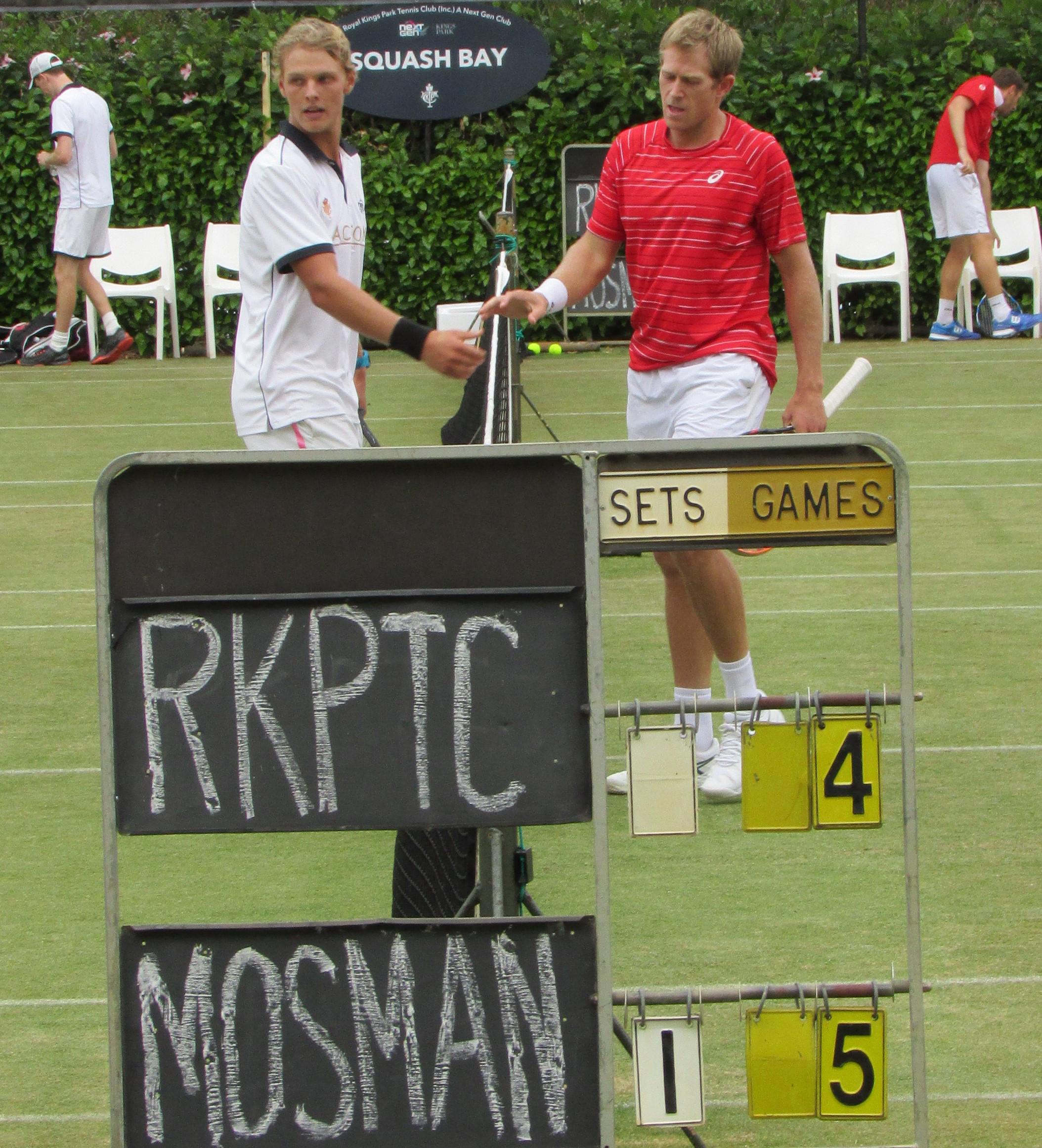 Tennis: Mosman Park serves up upset, defeats minor premier Kings Park for place in grand final