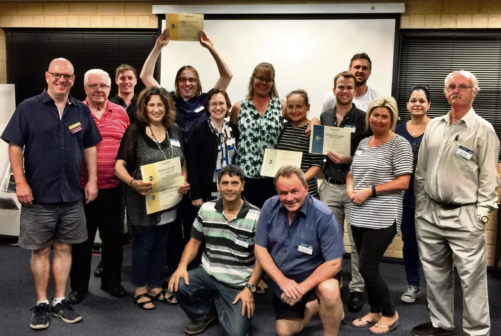 Butler Toastmasters holds first speech competition