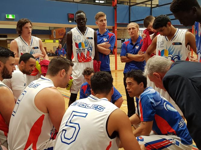 SBL: Eagles men and women get off to winning starts