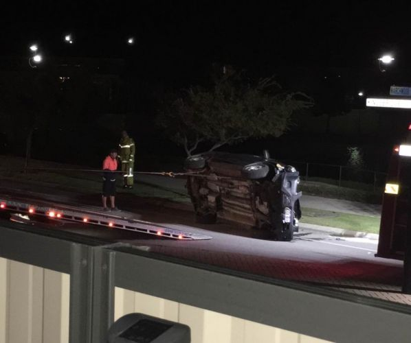 Police chase in Butler leads to vehicle rollover, man in