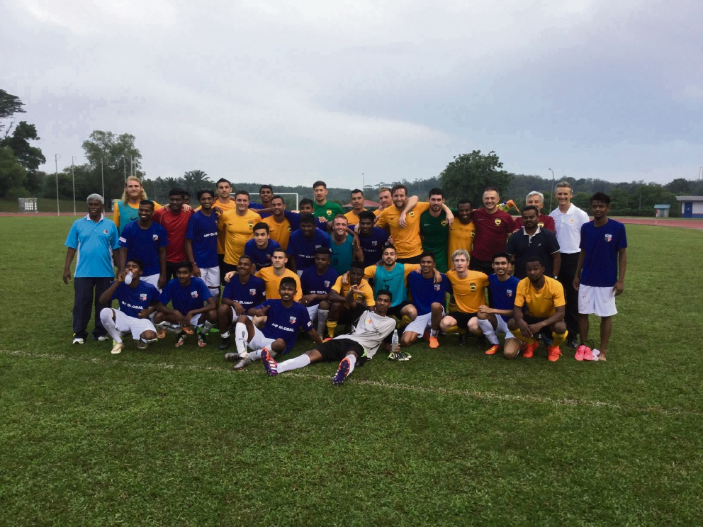 Soccer: North Perth United players help WA State Amateurs to remain unbeaten on Malaysia tour