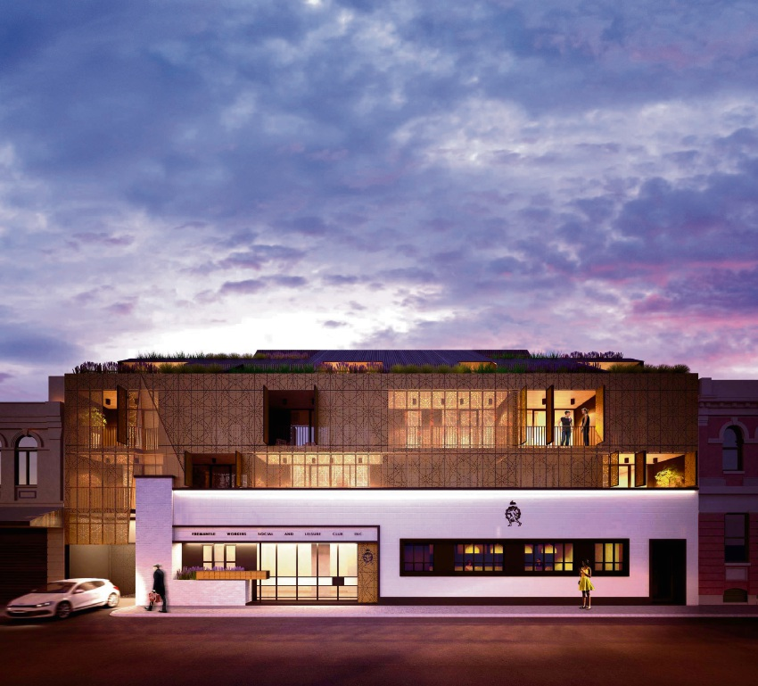 The Social: former Fremantle Workers' Social & Leisure Club transformed to give buyers a foot in the door