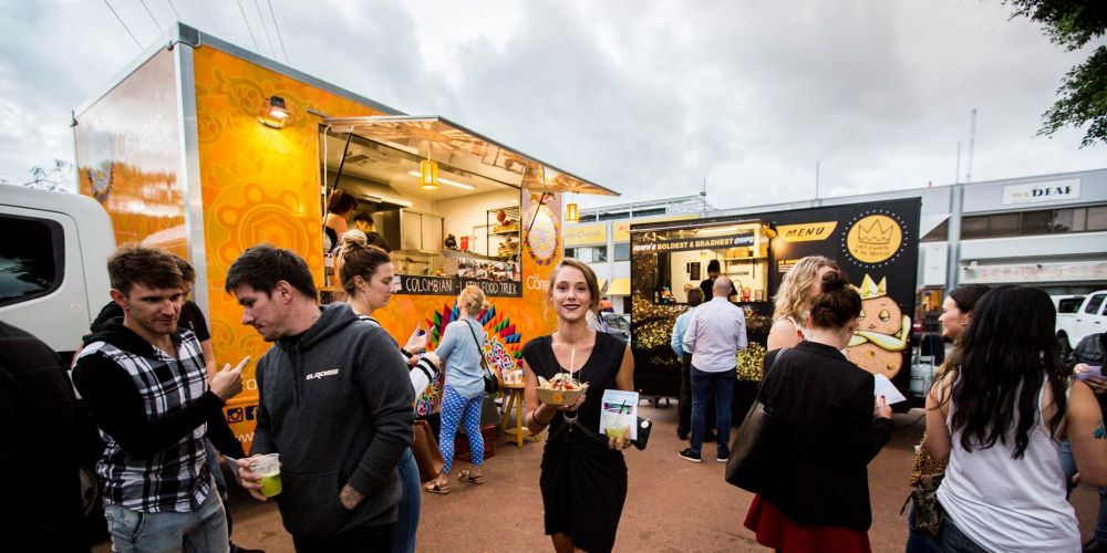 Food Truck Rumble on at the Perth Cultural Centre