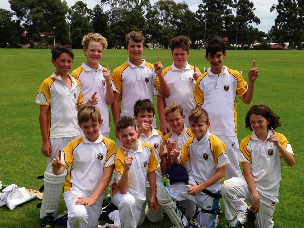South Perth Purple went undefeated during their season and won the South East Metropolitan Junior Cricket under-13 grand final.