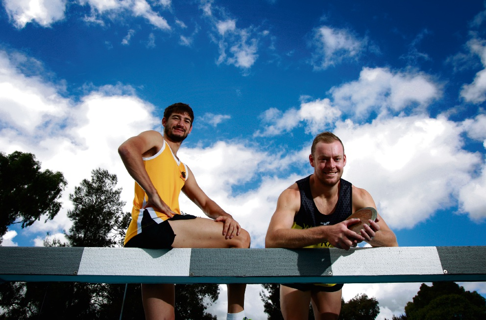 Canning athletes Terry Price and Wesley Salisbury will represent WA at the National Athletics Championships.