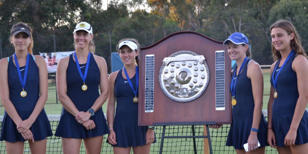 Cottesloe beat Blue Gum in the women's State League tennis final.