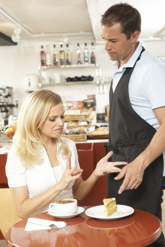 Not happy to pay for bad service. Stock picture