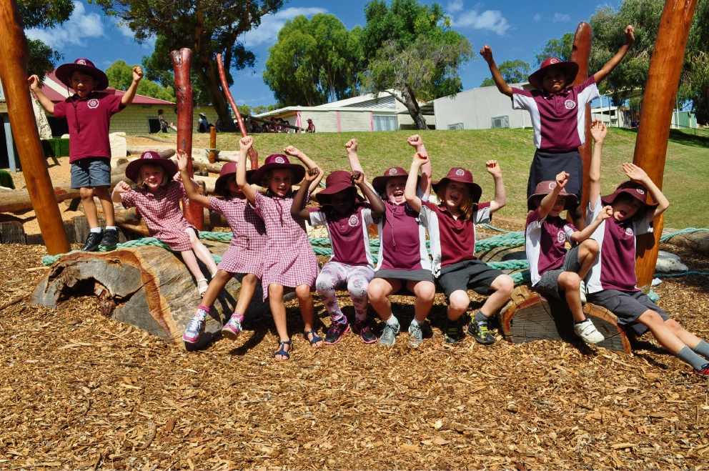 Winterfold students are excited about their new nature playground.