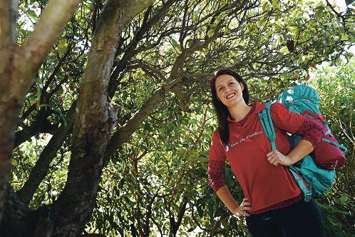 Mirrabooka resident Ayla Walker is all set for her trip to Nepal. Picture: Marcus Whisson www.communitypix.com.au d427975