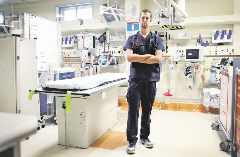 Emergency Department consultant David McCutcheon at Royal Perth Hospital. Picture: Matt Jelonek. d438748