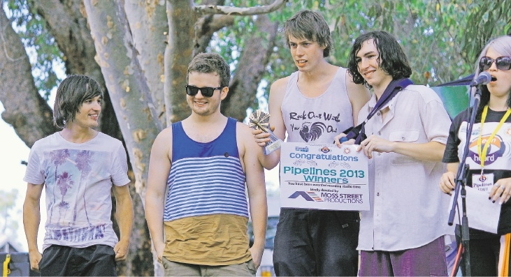 Sneaky Jackal scooped the musical crown at the Pipelines Festival in 2013.
