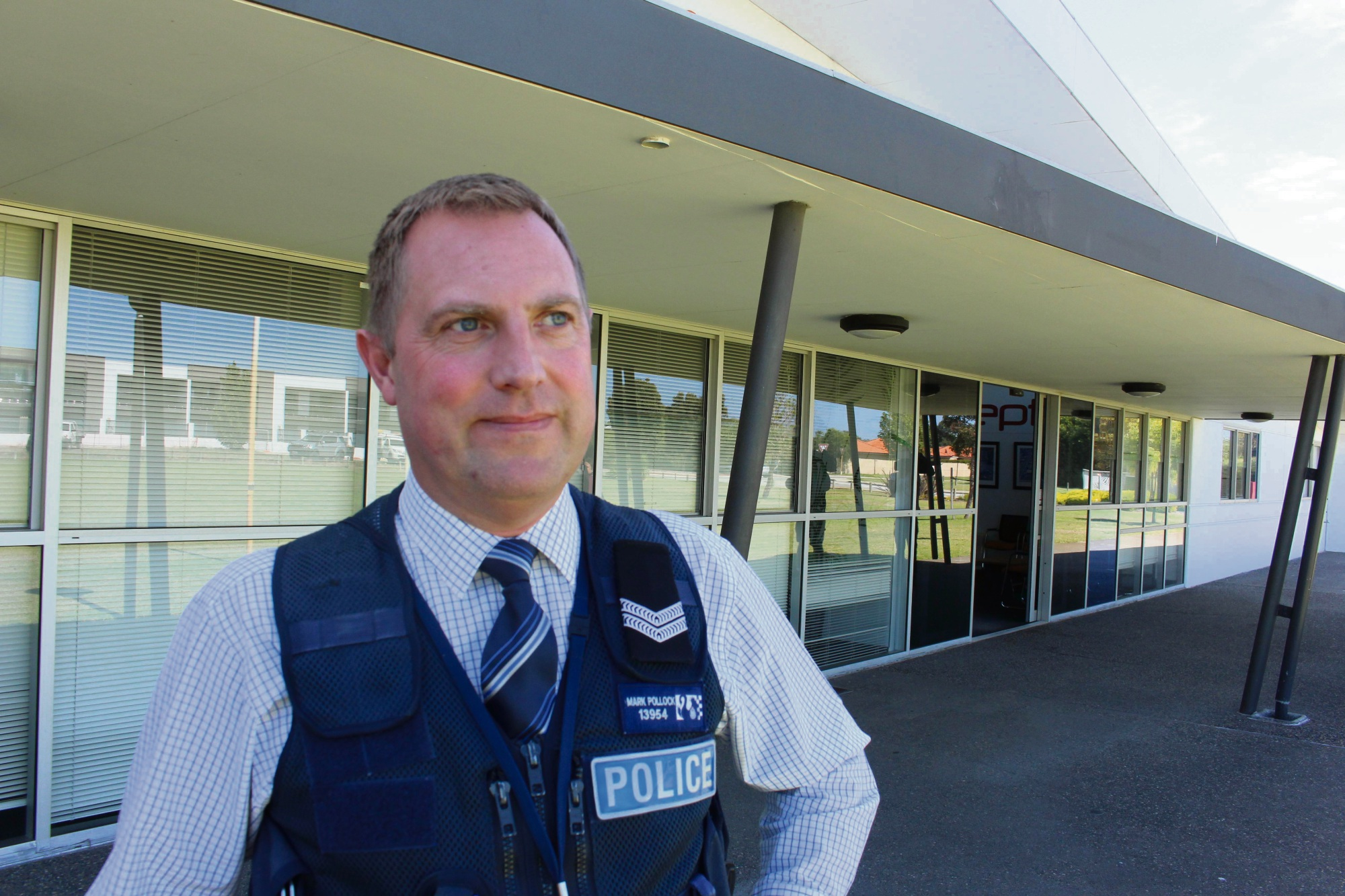 Detective Senior Constable Mark Pollock.