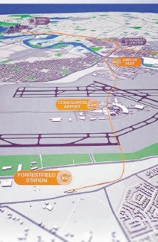 Forrestfield station precinct plans under way