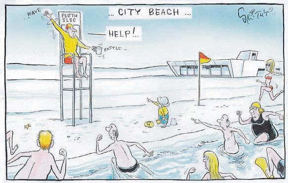 Funding effort no help for Perth Surf Life Saving club