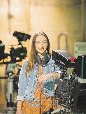 Tillara Casey has an internship at the ABC.