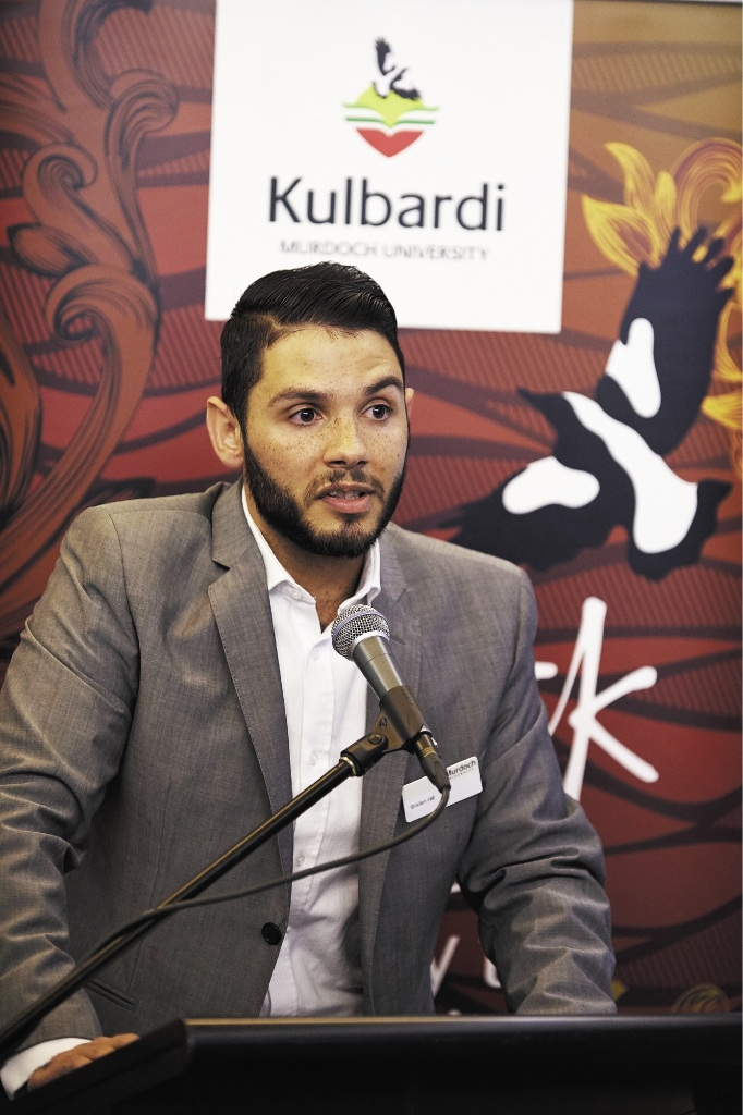 Kulbardi Centre manager Braden Hill is taking a new approach to racism and reconciliation.