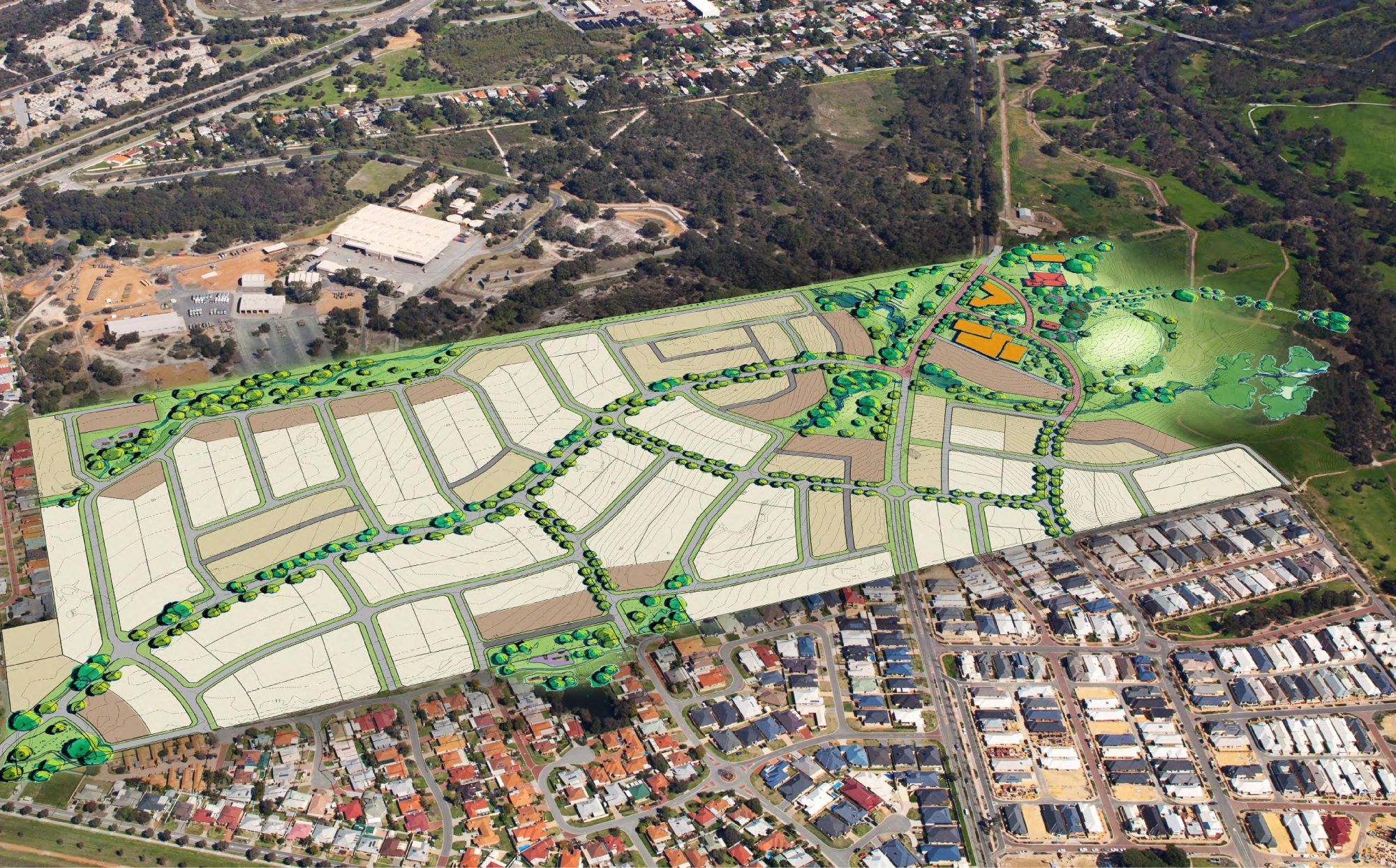 The proposal for the controversial Rosehill Waters Estate development in South Guildford is now closer to becoming a reality.