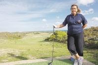 Lancelin Golf Club president Elizabeth Byrne.