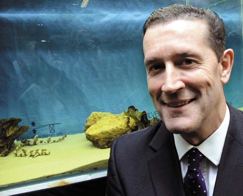 Oceans Institute director Shaun Collin. Picture: Jon Bassett