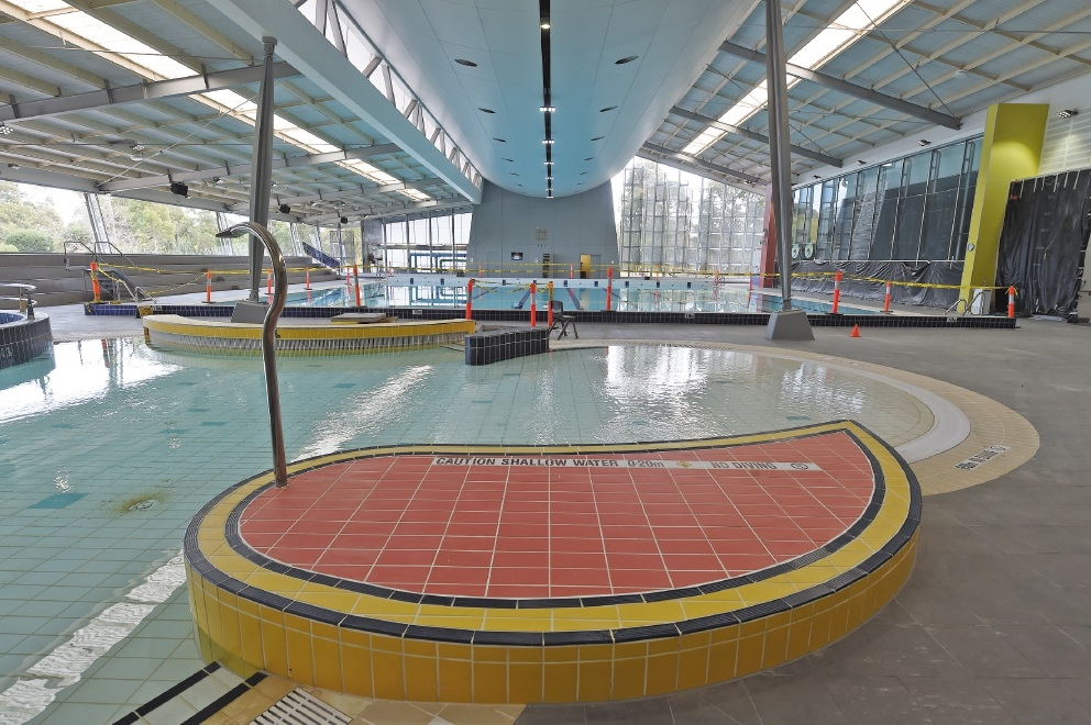 Kwinana's main pool has been retiled and refilled.