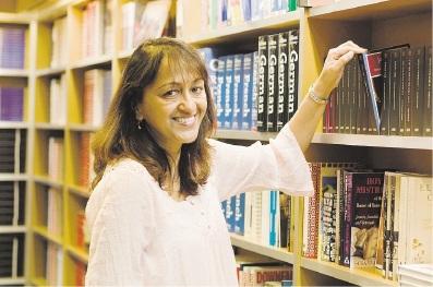 Author Rashida Murphy. Picture: Marziya Mohammedali