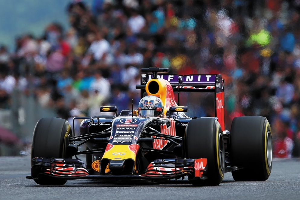 Dan Ricciardo performed well in Austria yesterday.