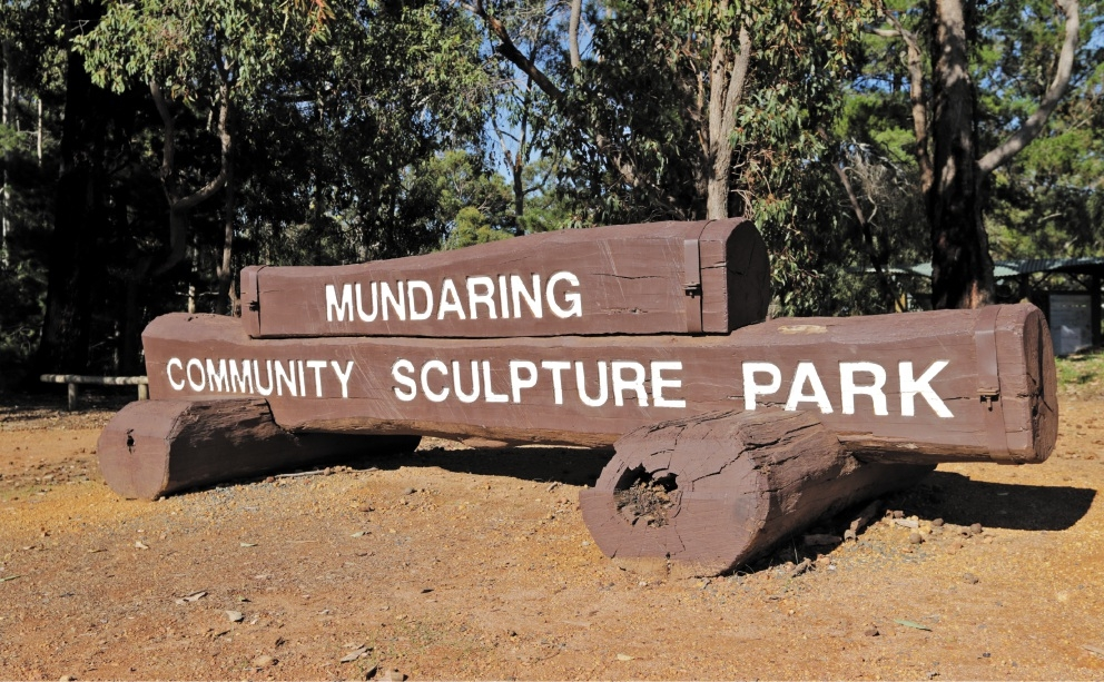 Mundaring's Community Sculpture Park will be further enhanced.        Pictures: David Baylis d439835
