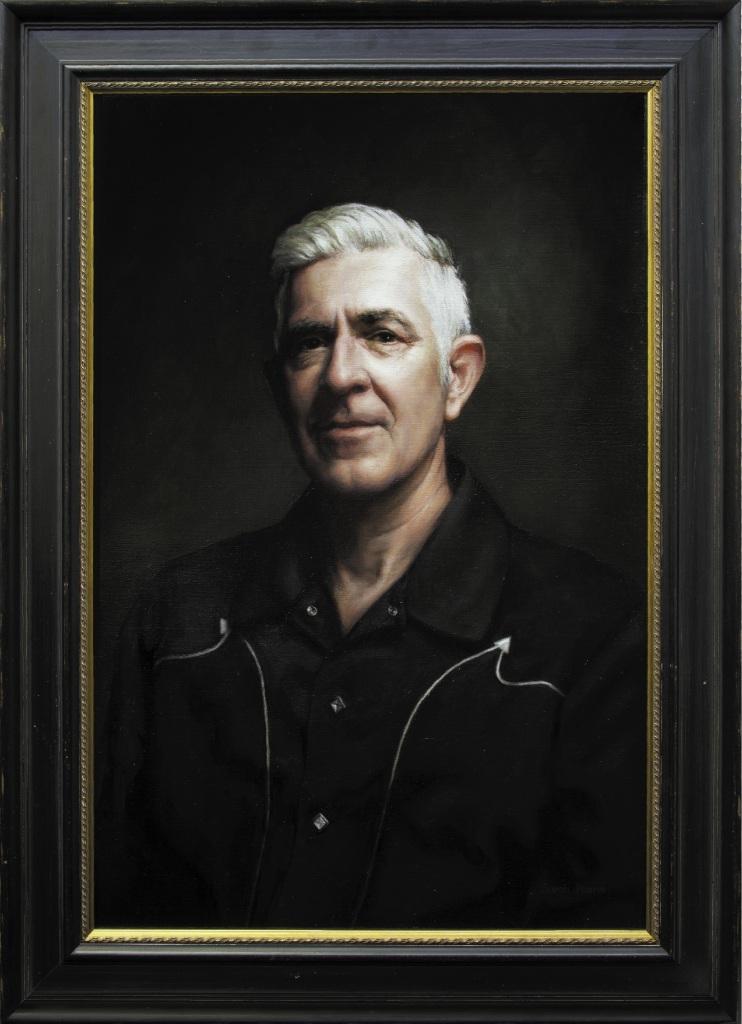 Sarah Pearn's portrait of Marc Gordon.