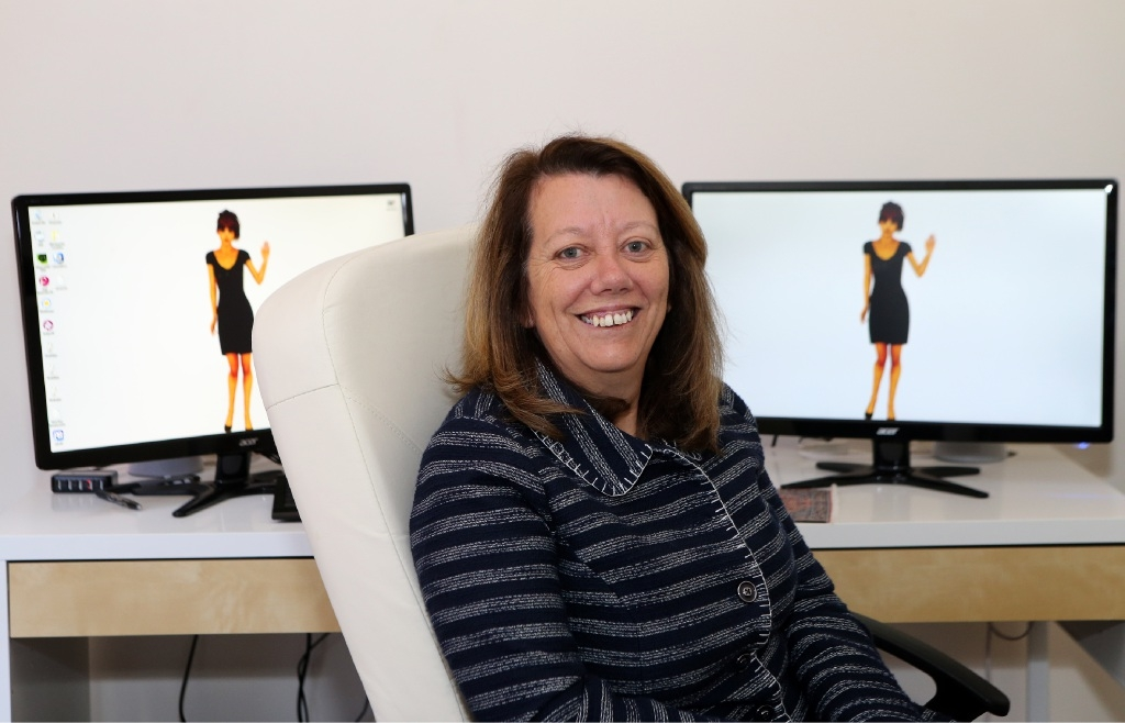 Angie Rayson hopes to give her business a spark after taking part in Ignition. Picture: Martin Kennealey