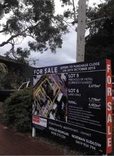 Residents watch land sale closely