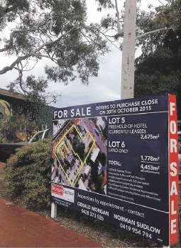 The land that the Bassendean Hotel sits on is for sale but the pub is safe from developers. Picture: Facebook