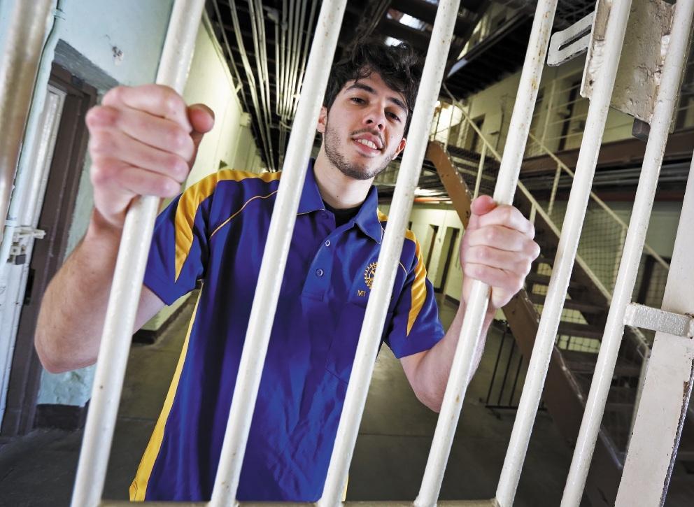 Joseph Carlino at Fremantle Prison. Picture: Matt Jelonek www.communitypix.com.au   d442460
