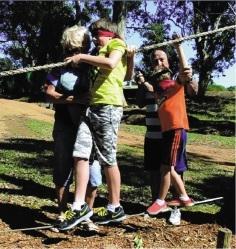 Family fun at  Fairbridge Village.