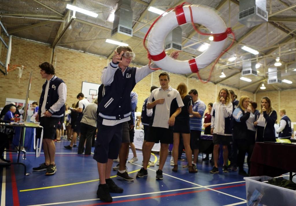 Teen health focus at Ocean Reef Senior High School