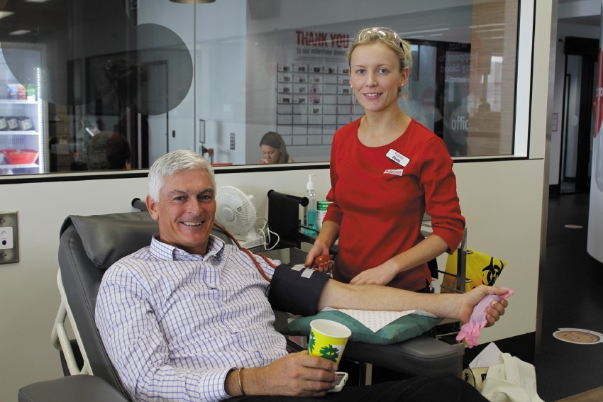 Red Cross blood donor notches up 46th donation after cancer scare