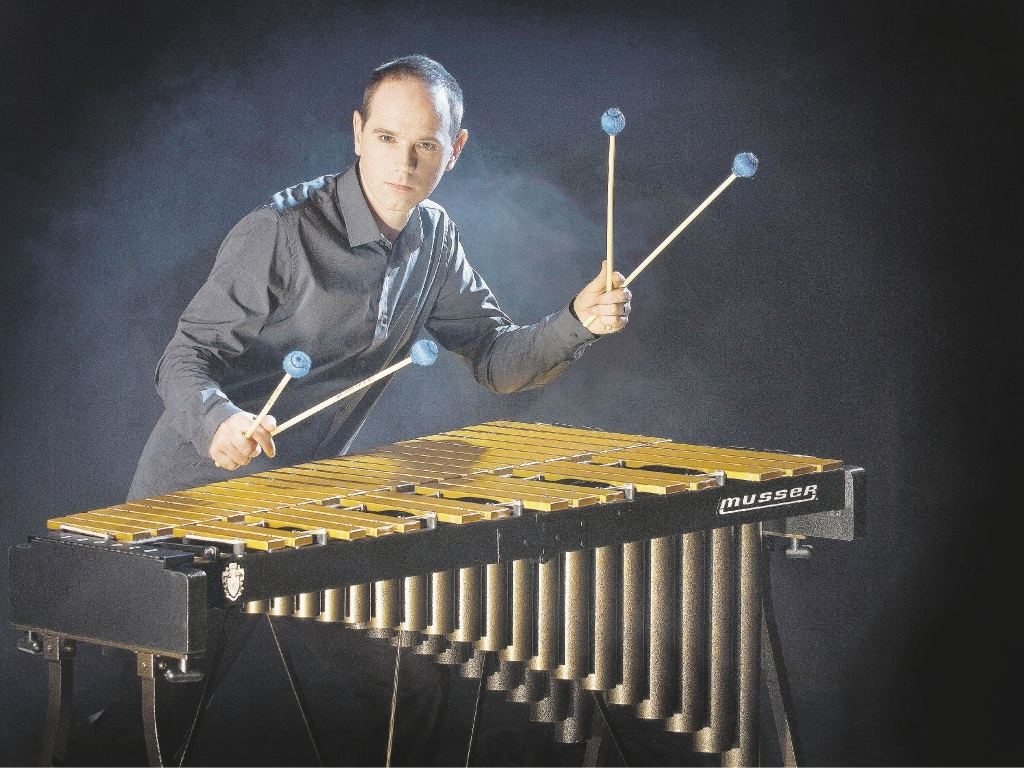 Industry-acclaimed vibraphone player Nick Parnell will perform in Mandurah