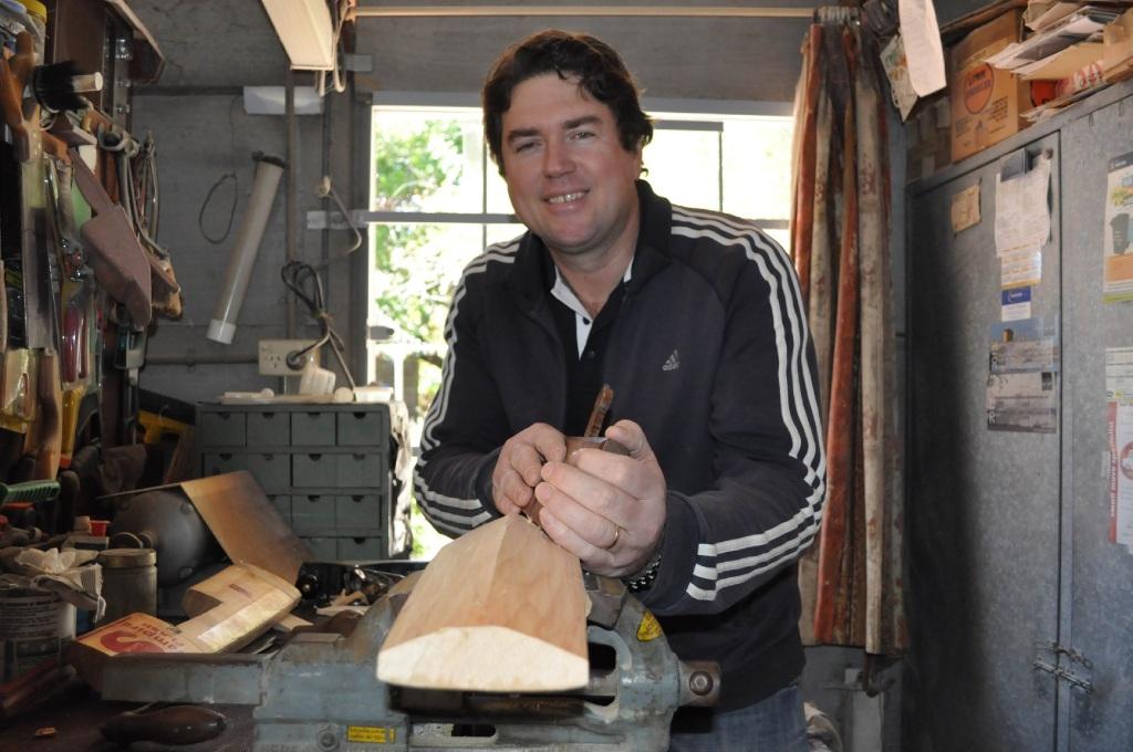 Cricket bat-making a precise science for Willetton graphic designer